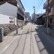 JR名古屋駅から北東のエリアにあります。