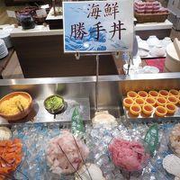 海鮮丼ネタはドーミーインよりは少なかったけど十分贅沢