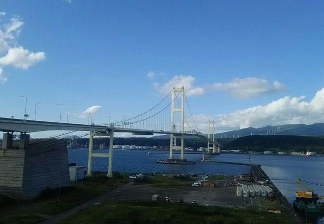 白鳥大橋展望台
