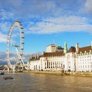 ロンドン市内を流れる川