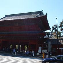 増上寺 三解脱門