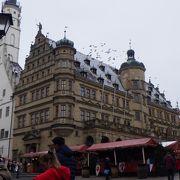 マルクと広場にある市庁舎