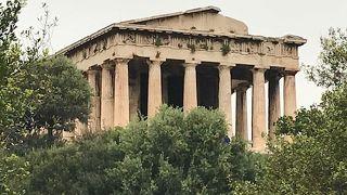 古代アゴラの神殿