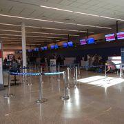 主に国際線で使う空港