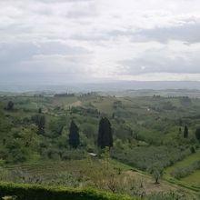 サンジャミアーノからの景色