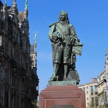 デビッド テニールス二世像