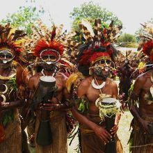 古代から続くPNGの土着文化