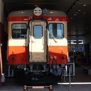 列車の時間待ちに。キハ52と鉄道模型、ジオラマが見もの。