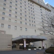 高級感がありそうなホテル
