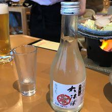 新篠津村産「彗星」100%使用の純米酒。この日に新発売!!