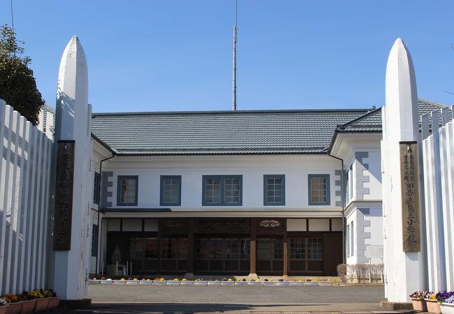 昔の学校を使った郷土資料館