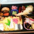 岡山名物弁当が目白押し。美味しくいただきました。