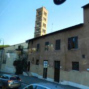 ローマの休日の舞台教会