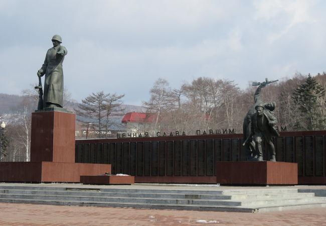 栄光広場 (旧樺太神社跡)