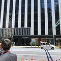 開業したばかり 場所はエドグラン前 京橋駅からすぐ