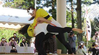 北海道女だけの相撲大会