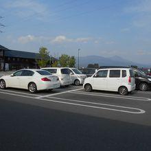 はるか東には会津磐梯山が望まれる