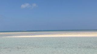さすが離島のビーチ