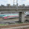 写真:東京新幹線車両センター