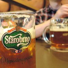 ブルノを代表するビール、スタロブルノを飲もう!
