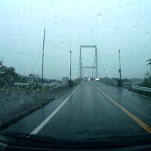 徳島県の鳴門市と大毛島を結ぶ橋です。