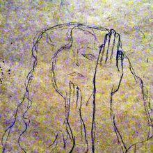 """クリムト素描 ウィーン大学""""法学""""の真実の女神のための習作"""
