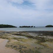 波静かな浜