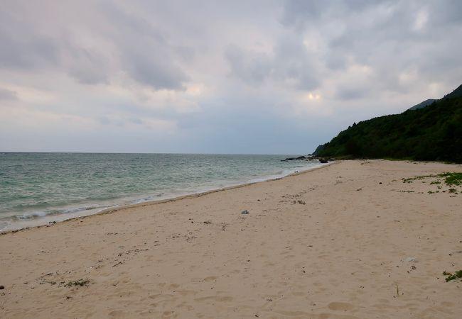 西表島南端の浜