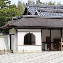 禅寺風の窓