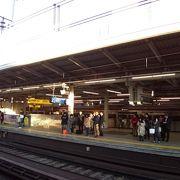 駅周辺はかなり開けていますが個人的にはあまり好きではありません