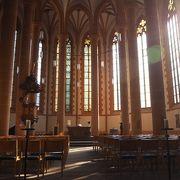 落ち着いた雰囲気の教会 聖霊教会