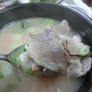 釜山名物テジクッパは食すべし