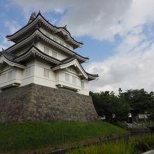 関東七名城の一つで石田光成の水攻めにも耐えた名城