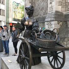 モリーマローン像