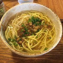 スープが透明で味わい深いです!