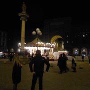 フィレンツェの中心の広場