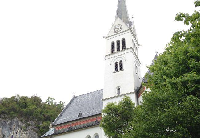 地元の教会