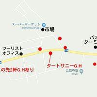 赤丸がG.H