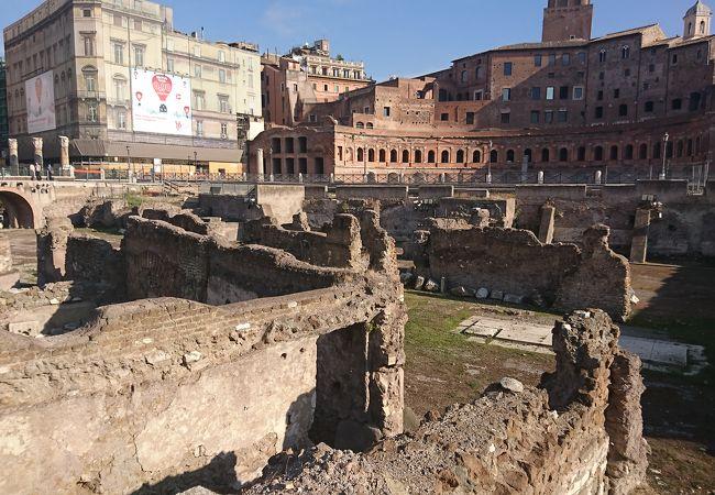 ローマ時代のショッピングモール