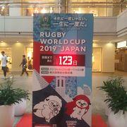 ラグビーワールドカップ2019開幕まであと123日です!