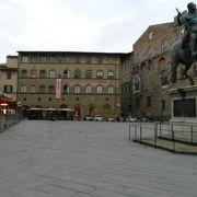 L字型の広場
