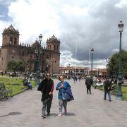 クスコ観光の中心