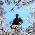 写真:品川弥二郎像