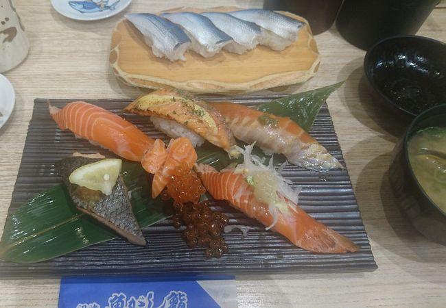 沼津 魚がし鮨 流れ鮨 下土狩店