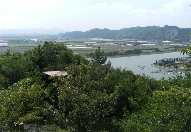 古城山公園(岡山県笠岡市)