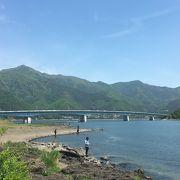 =河口湖大橋= 河口湖横断