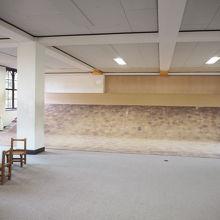 1階、日曜学校の教室