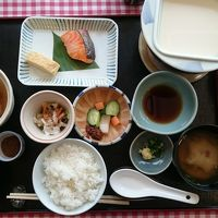 和食の朝食は素晴らしかったです