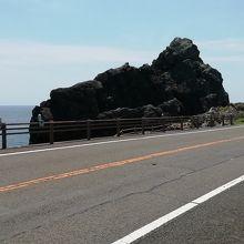 ビシャゴ岩です