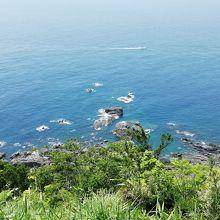 眼下の太平洋です